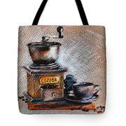 Coffee Grinder Tote Bag