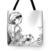 Coffee Lady Tote Bag