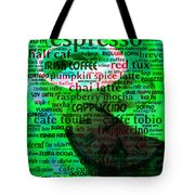 Coffee Lovers Diary 5d24472p108 Tote Bag