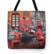 Coffee Shop Culture Tote Bag