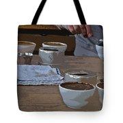 Coffee Tasting Tote Bag