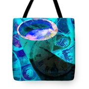 Coffee Time My Time 5d24472p168 Tote Bag