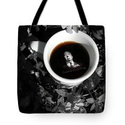 Coffee With Alfred Tote Bag