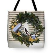 Coffee Wreath Tote Bag