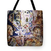 Coffeehouse Of The Mind Tote Bag