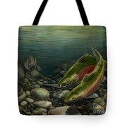 Coho Fishing Tote Bag