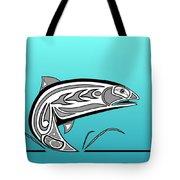 Coho Salmon Tote Bag