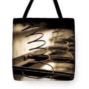 Coil Bed Springs Tote Bag