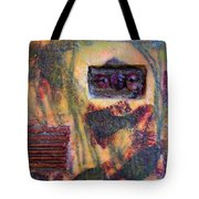 Coin Of The Realm Encaustic Tote Bag