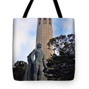 Coit Tower -1 Tote Bag