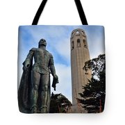 Coit Tower -2 Tote Bag