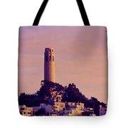 Coit Tower Tote Bag