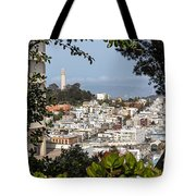 Coit Tower View Tote Bag