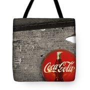 Coke Cola Sign Tote Bag