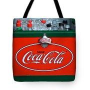 Coke Cooler Tote Bag