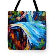 Cold Ballet Tote Bag