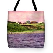 Cold Bay From The Dock Tote Bag