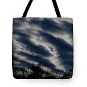 Cold Cloudscape Tote Bag