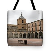 Cold Courtyard Avila Tote Bag