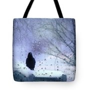 Cold Crow Tote Bag