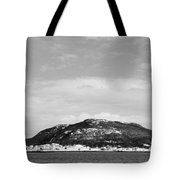 Cold Day In The Harbour  Tote Bag