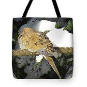 Cold Dove Tote Bag