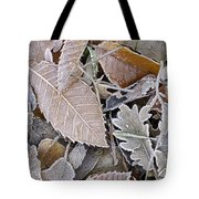 Cold Leaves Tote Bag
