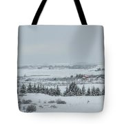 Cold Light Tote Bag