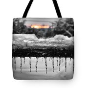 Cold Morning Light Tote Bag