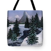 Cold Mountain Brook Tote Bag