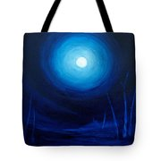 Cold Orb Tote Bag