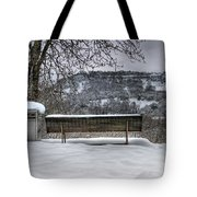 Cold Seat With A View 2 Tote Bag