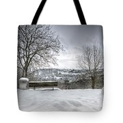 Cold Seat With A View Tote Bag