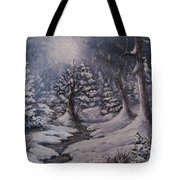 Cold Snap Tote Bag