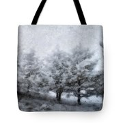 Cold Spell Tote Bag
