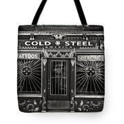 Cold Steel Bw Tote Bag