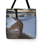 Cold Stone Tote Bag