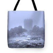 Cold Tower Of Mist Tote Bag