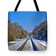Cold Tracks Tote Bag