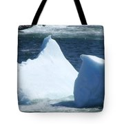 Cold Visitors  Tote Bag