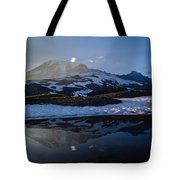 Cold Water Mountain Tote Bag