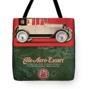 Cole Aero Eight Vintage Poster Tote Bag