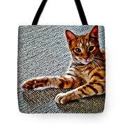 Cole Kitty Tote Bag