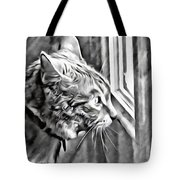 Cole Kitty Watchful Tote Bag