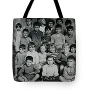 Colette In Preschool Class In Alba France Tote Bag