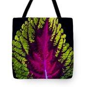 Coleus Leaf Tote Bag