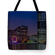 Colgate Clock Exchange Place  Tote Bag
