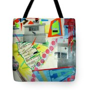 Collage 444 Tote Bag by Bruce Stanfield