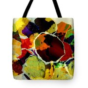 Collage Art Torn Paper  Tote Bag