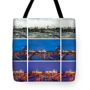 Collage - Kremlin View - Featured 3 Tote Bag